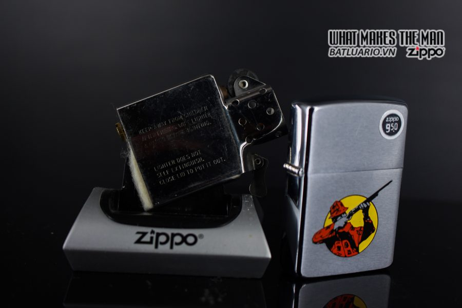 ZIPPO 1986 – HUNTER – SPORT SERIES 3
