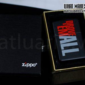 ZIPPO 2001 – MARLBORO – DROVE 'EM ALL RACING SCHOOL 1