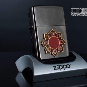 ZIPPO 2002 – CAMEL BLACK ICE ROSETTE