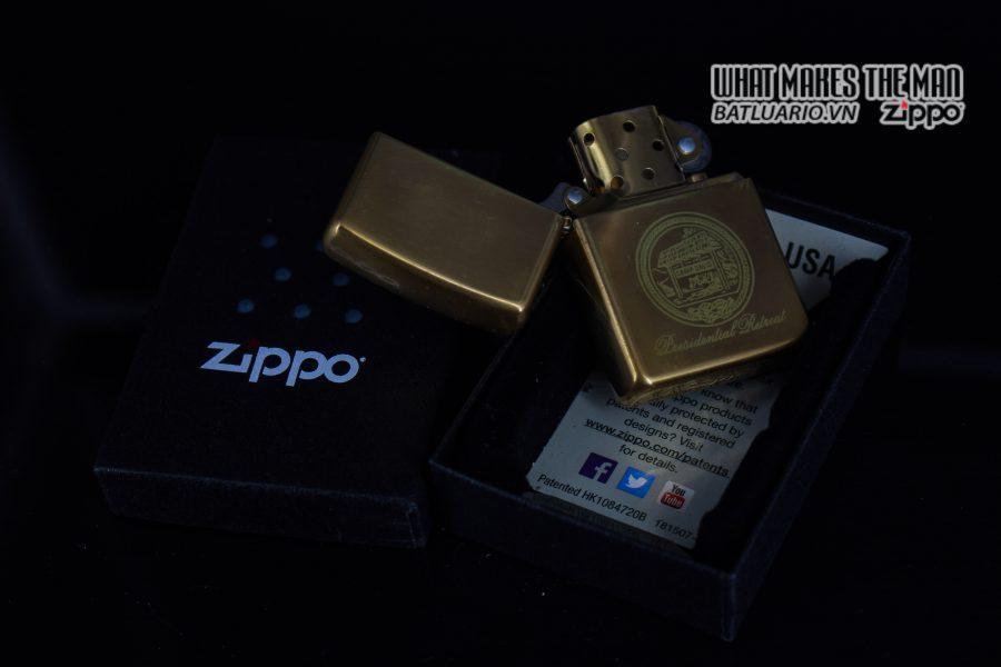 ZIPPO 2002 – CAMP DAVID 1