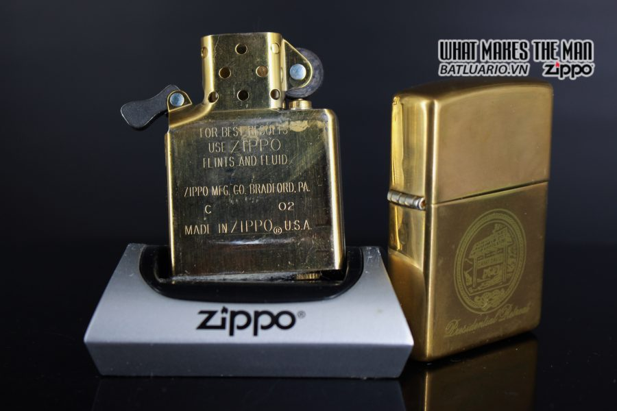 ZIPPO 2002 – CAMP DAVID 3