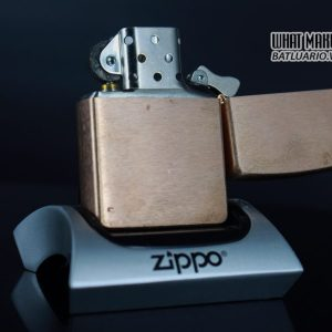 ZIPPO 2003 – SOLID COPPER – CAMEL 1