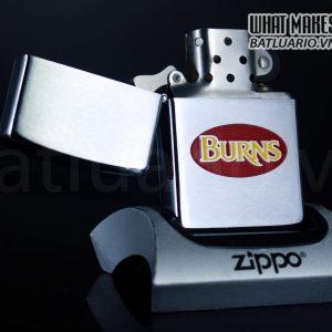 ZIPPO CANADA 1970S – BURNS 1