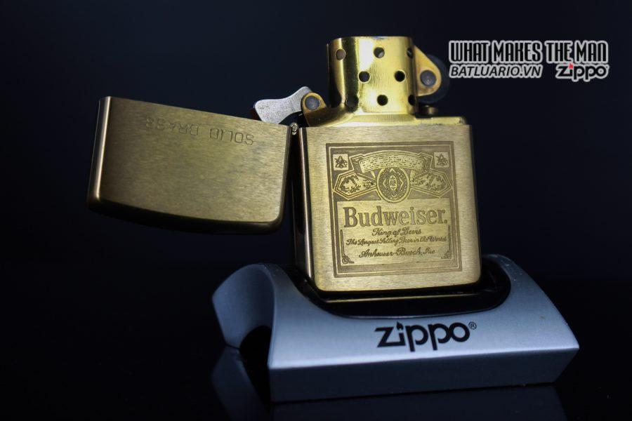 ZIPPO CHU NIÊN 1932 – 1990 – BUDWEISER 8