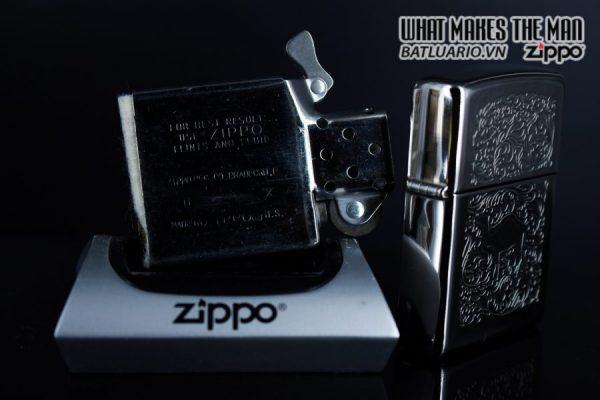 ZIPPO HIẾM – LA MÃ 1994 – CAMEL SILVER PLATE 3