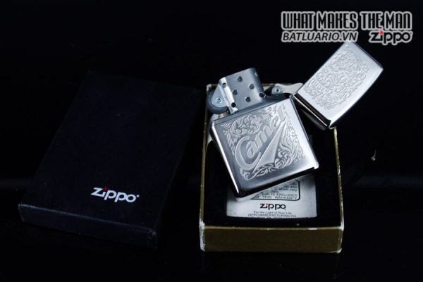 ZIPPO HIẾM – LA MÃ 1994 – CAMEL SILVER PLATE 9