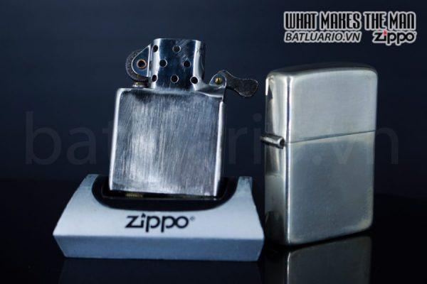 ZIPPO HIẾM – ZIPPO STERLING – BẠC KHỐI 1940S 5