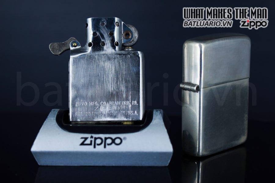 ZIPPO HIẾM – ZIPPO STERLING – BẠC KHỐI 1940S 6