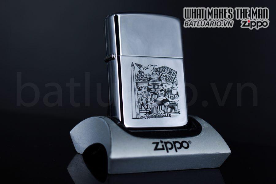 ZIPPO LA MÃ 1989