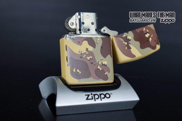 ZIPPO LA MÃ 1990 – CAMO – DESERT SHIELD 7