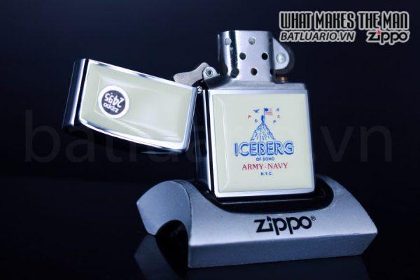 ZIPPO LA MÃ 1992 – ICEBERG OF SOHO 1