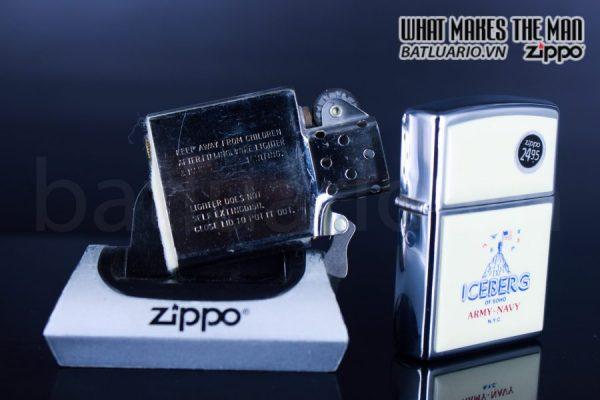 ZIPPO LA MÃ 1992 – ICEBERG OF SOHO 3