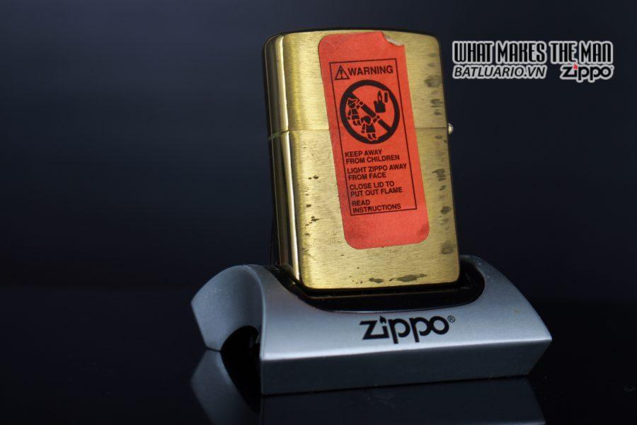 ZIPPO LA MÃ 1994 – SELECT TRADING CO. 4