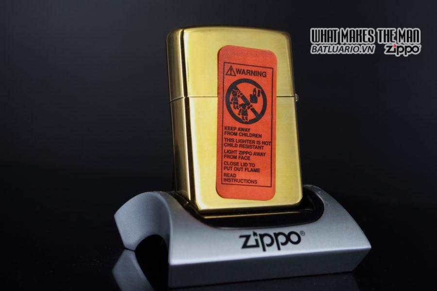 ZIPPO LA MÃ 1995 – CAMEL POWERED 4