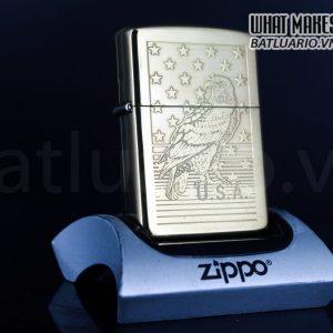 ZIPPO LA MÃ 1995 – EAGLE