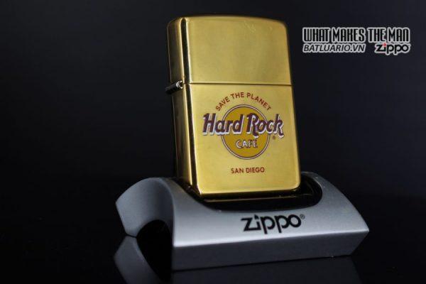 ZIPPO LA MÃ 1996 – CAFE HARD ROCK – ĐỒNG NGUYÊN KHỐI – SAN DIEGO