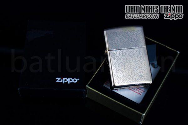 ZIPPO LA MÃ 1997 – ROSE GOLD – MẠ VÀNG HỒNG 6