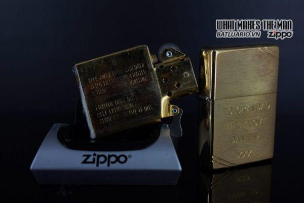 ZIPPO LA MÃ 1997 – VINTAGE REPLICA 1937 – TO GRANDAD WITH LOVE 2