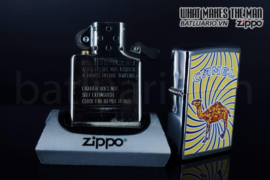 ZIPPO LA MÃ 1998 – CAMEL 3