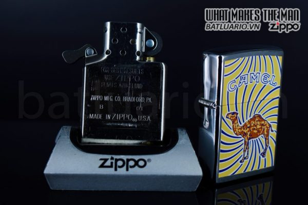 ZIPPO LA MÃ 1998 – CAMEL 4