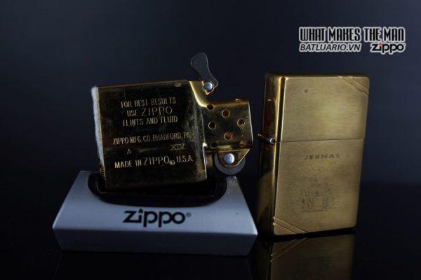 ZIPPO LA MÃ 1998 – VINTAGE REPLICA 1937 – JERNAS 3