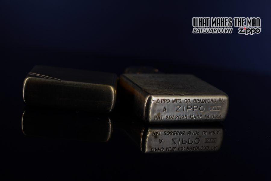 ZIPPO LA MÃ 1998 – VINTAGE REPLICA 1937 – JERNAS 6