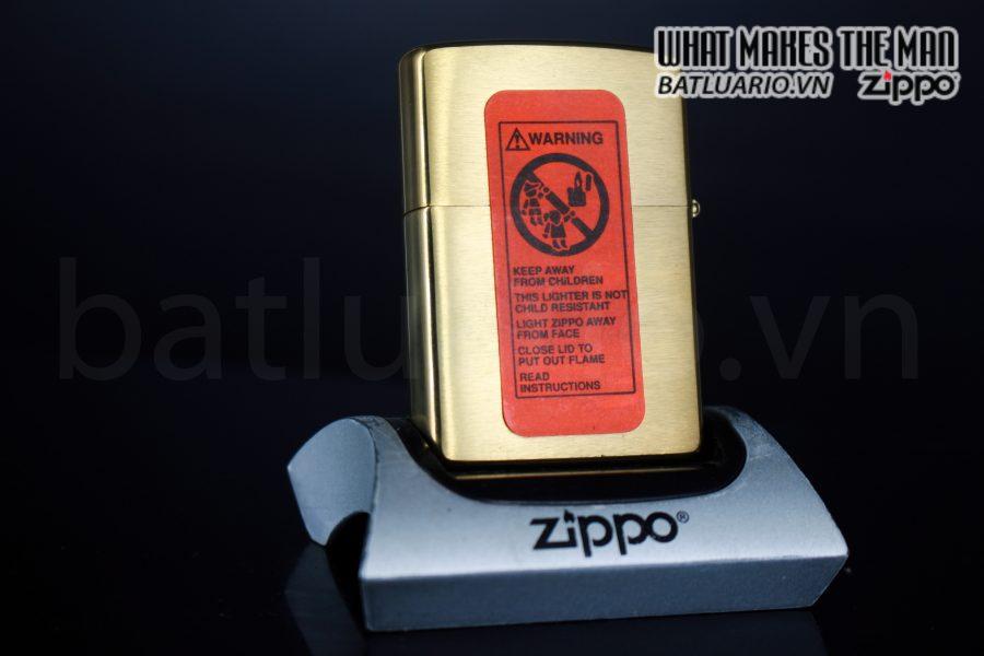 ZIPPO LA MÃ 2000 – ĐỒNG NGUYÊN KHỐI 1