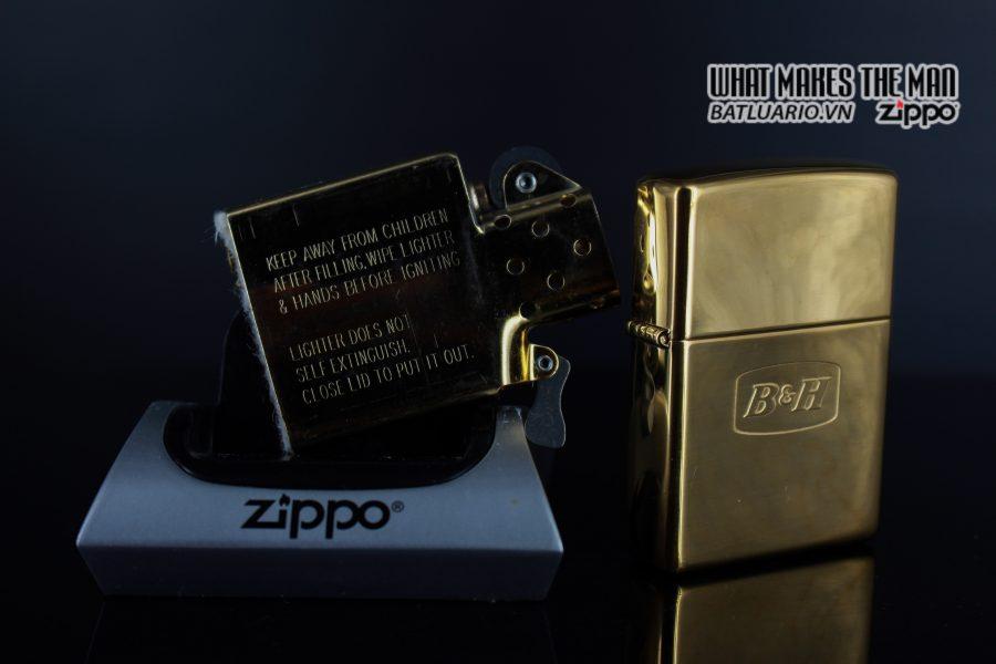 ZIPPO LA MÃ 2000 – ĐỒNG NGUYÊN KHỐI – B&H 4