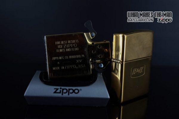 ZIPPO LA MÃ 2000 – ĐỒNG NGUYÊN KHỐI – B&H 5