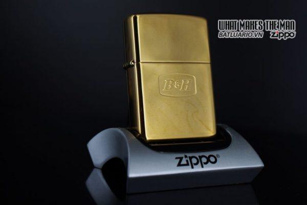 ZIPPO LA MÃ 2000 – ĐỒNG NGUYÊN KHỐI – B&H