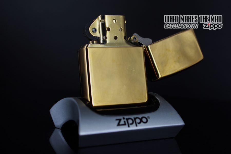 ZIPPO LA MÃ 2000 – ĐỒNG NGUYÊN KHỐI – B&H 7