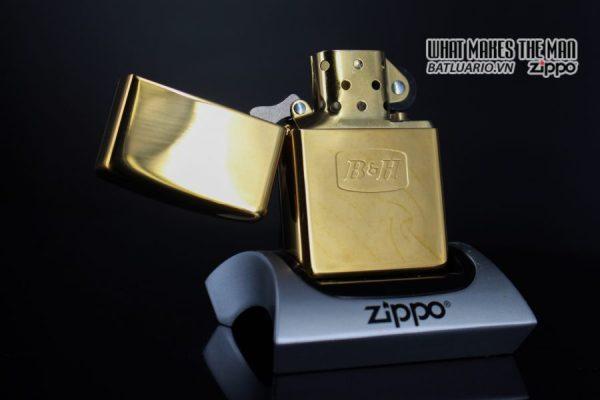ZIPPO LA MÃ 2000 – ĐỒNG NGUYÊN KHỐI – B&H 8