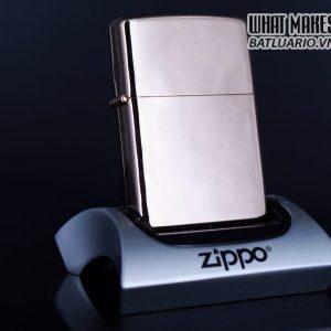 ZIPPO LA MÃ 2000 – MẠ VÀNG HỒNG – ROSE GOLD