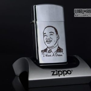 ZIPPO SLIM 1974 – I HAVE A DREAM – MARTIN LUTHER KING JR