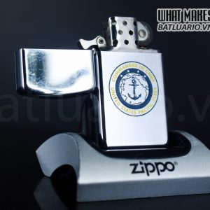 ZIPPO SLIM XƯA 1964 – COMMANDER IN CHIEF – UNITED STATES PACIFIC FLEET 1