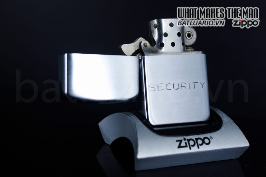 ZIPPO XƯA 1951 – 1952 – SECURITY 1