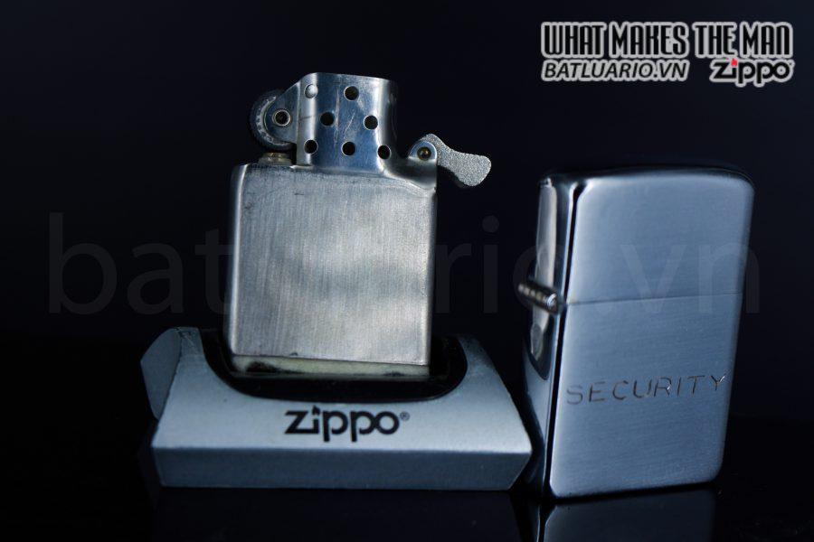 ZIPPO XƯA 1951 – 1952 – SECURITY 2