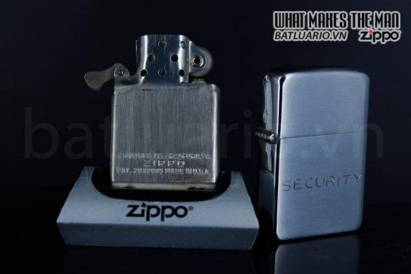 ZIPPO XƯA 1951 – 1952 – SECURITY 3