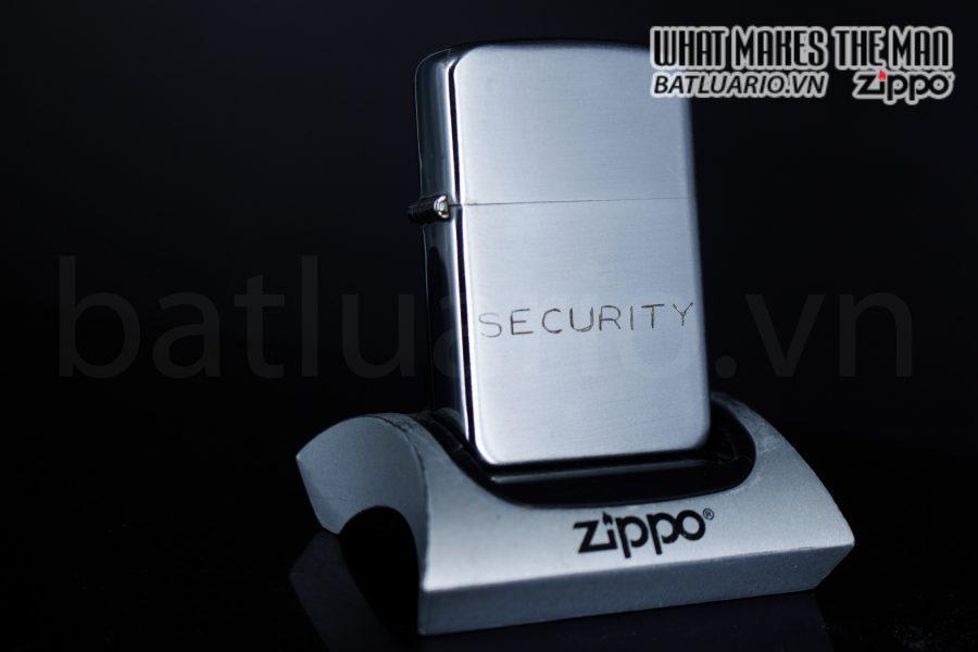 ZIPPO XƯA 1951 – 1952 – SECURITY