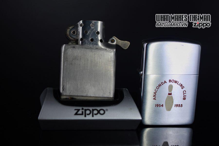 ZIPPO XƯA 1952 – 1954 – ANACONDA BOWLING CLUB 2