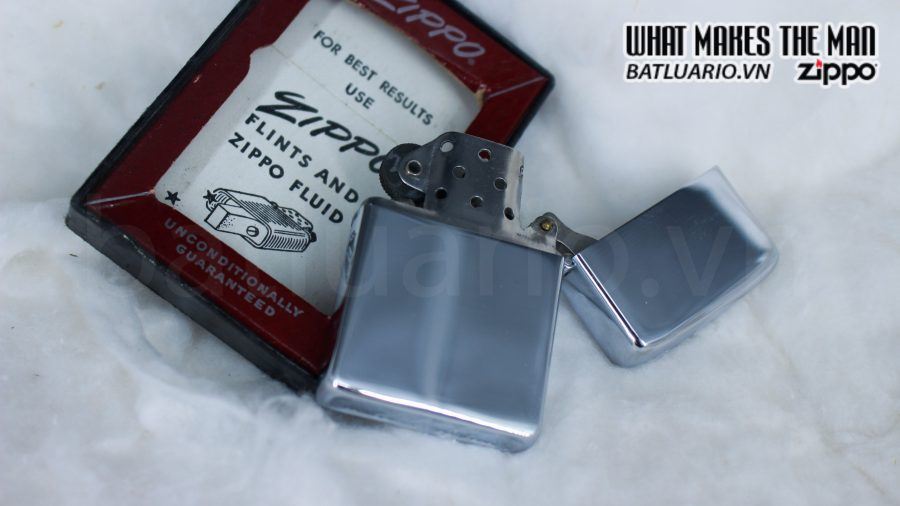 ZIPPO XƯA 1955 – 1956 – COMMANDER CARRIER DIVISION ONE 5