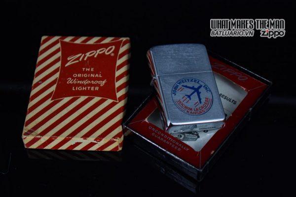 ZIPPO XƯA 1956 - JOHN WEITZEL INC 1