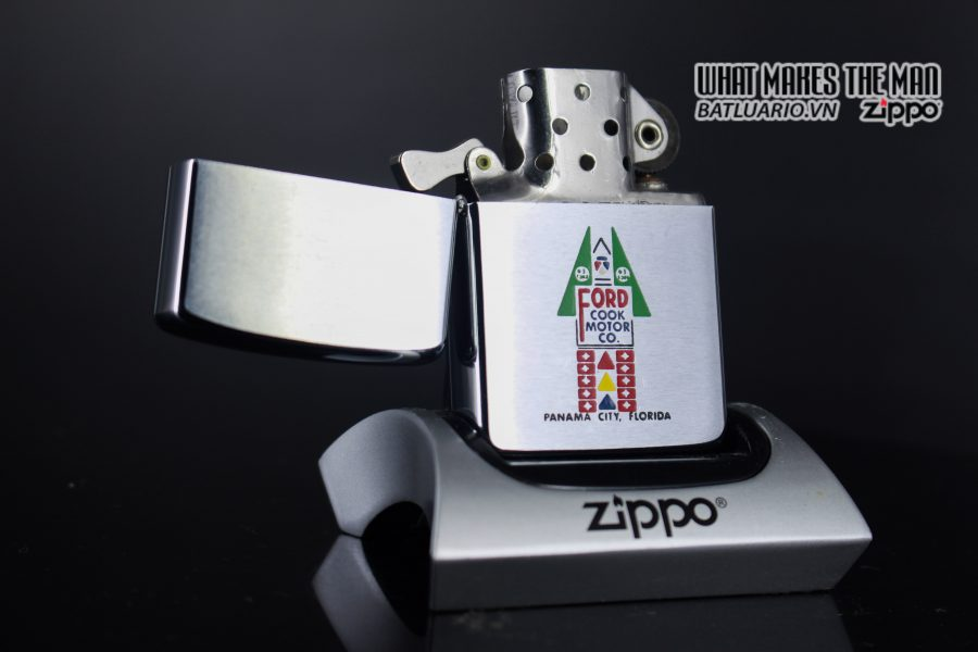 ZIPPO XƯA 1963 – FORD COOK MOTOR CO. 1