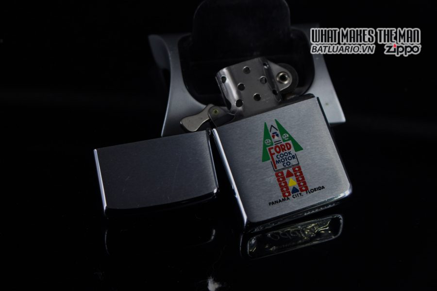 ZIPPO XƯA 1963 – FORD COOK MOTOR CO. 8