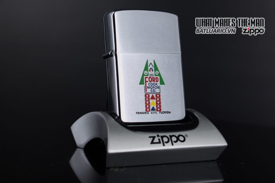 ZIPPO XƯA 1963 – FORD COOK MOTOR CO.
