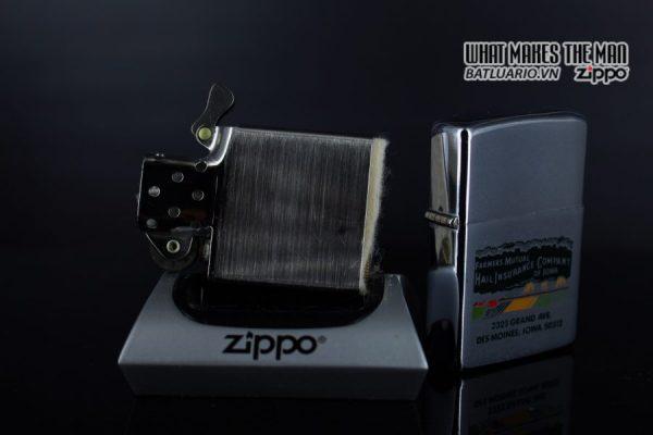 ZIPPO XƯA 1971 – FAMMERS MUTUAL INSURANCE COMPANY 2