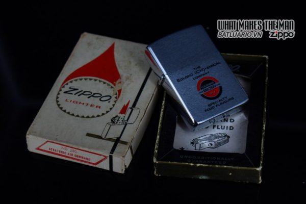 ZIPPO XƯA 1975 – EDLONG (CH)+EMICAL COMPANY 1