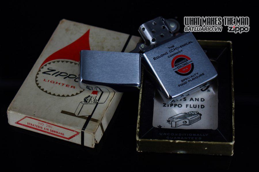 ZIPPO XƯA 1975 – EDLONG (CH)+EMICAL COMPANY 9
