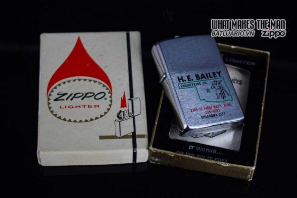 ZIPPO XƯA 1975 – H.E. BAILEY 1