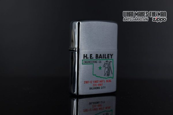 ZIPPO XƯA 1975 – H.E. BAILEY 2